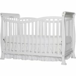 5-in-1 Convertible Mini Crib Toddler Bed Baby Bed Nursery Fu
