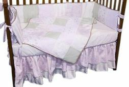 Baby Doll Bedding Rose Garden Brocade and Embroidered Cradle