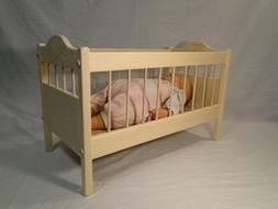 baby doll crib for up to 18
