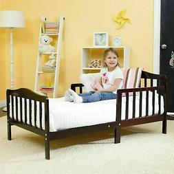 Baby Toddler Beds with Rails Kids Bedroom Wood Furniture Bab