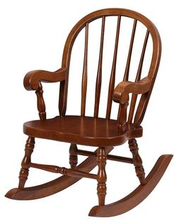 Handcrafted Solid Wood Child's Bowback Rocker  Willowbend Ch