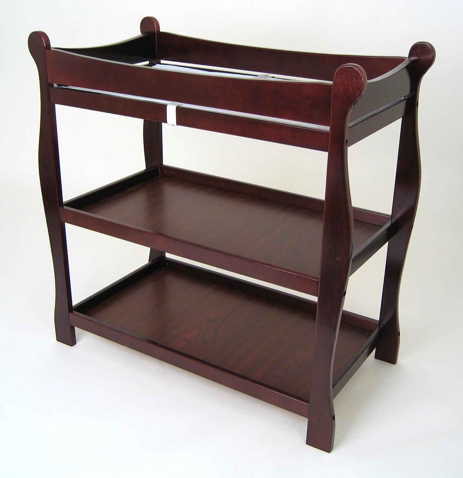 Baby Table Station W/ Nursery Furniture Wood