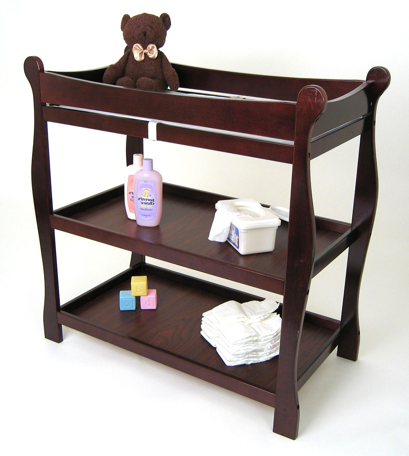 baby changing table station w diaper storage