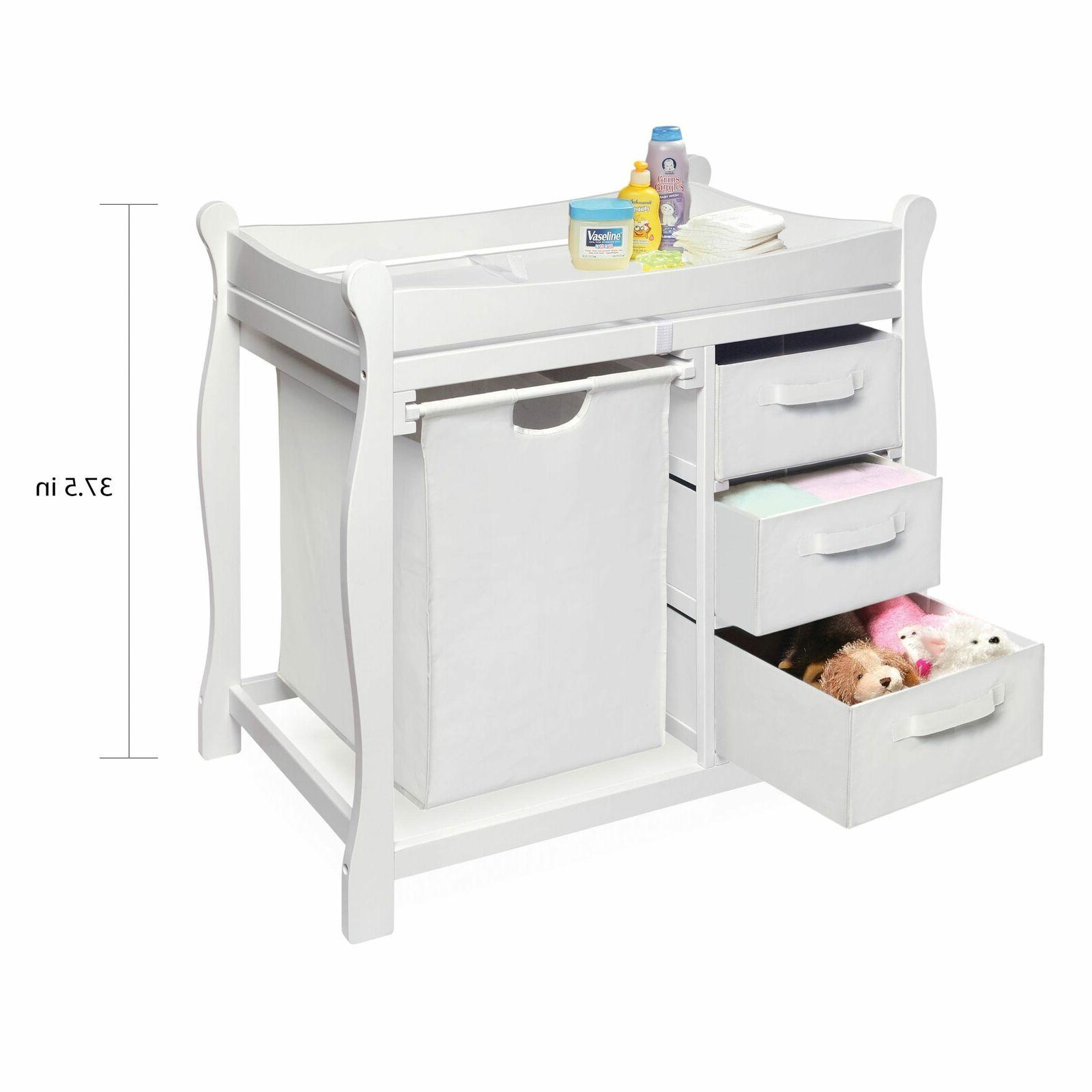 Baby Changing Drawers Nursery