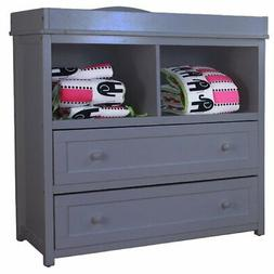 AFG Baby Furniture Leila Solid Wood 2-Drawers Changing Table