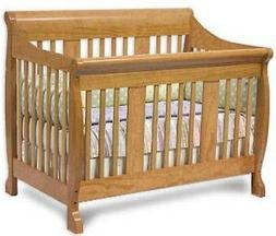 Nursery Convertible Baby Crib Bed,  Furniture Woodworking Pl