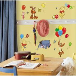 RoomMates RMK1498SCS Wall Decal, Pooh & Friends
