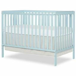 Dream On Me Synergy 5-in-1 Convertible Crib in Sky Blue